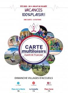 Carte Multiloisirs 2020