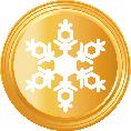 1 Snowflake Gold