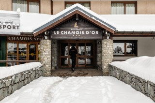 Entrance - ©Residence Chamois D'Or