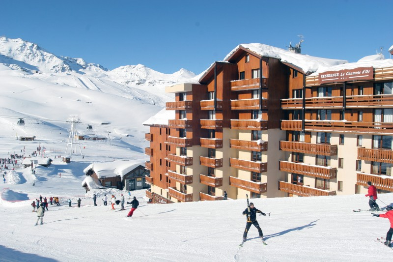Slopes side facade - ©Residence Chamois D'Or