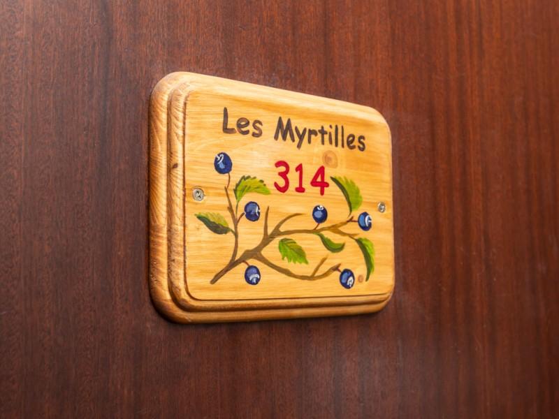 Porte d'appartement - ©Résidence Chamois D'Or