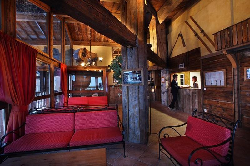 Reception - ©Résidence Chalet des Neiges Hermine