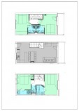 Apartment 5 rooms 8 persons East view © Residence L'Oxalys