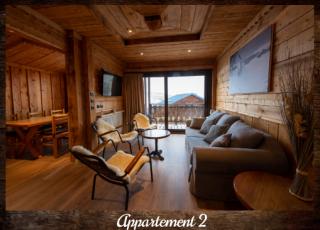 Appartement 2 - ©Résidence Chalets du Thorens