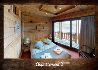 Apartment 3 - ©Résidence Chalets du Thorens