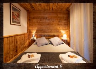 Apartment 4 - ©Résidence Chalets du Thorens