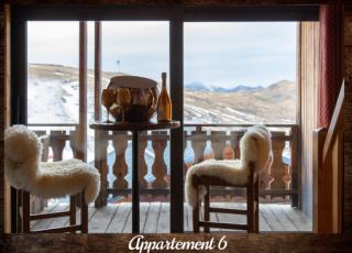 Apartment 6 - ©Résidence Chalets du Thorens