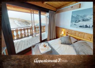 Apartment 7 - ©Résidence Chalets du Thorens