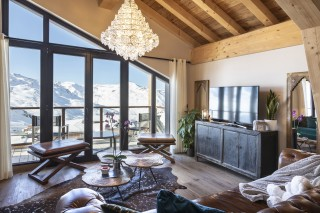 Living Room ©Chalets Privés du Koh I Nor