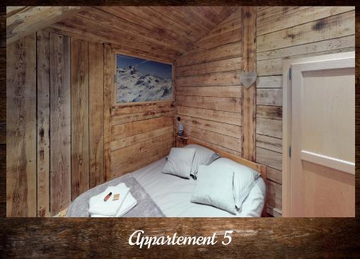 Apartment 5 - ©Résidence Chalets du Thorens