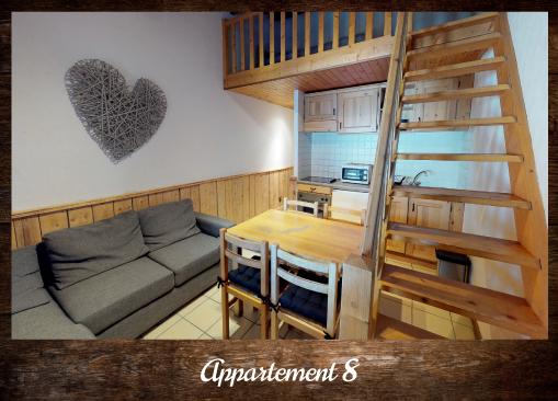 Appartement 8 - ©Résidence Chalets du Thorens