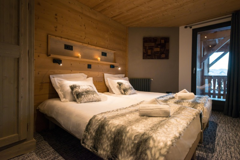 Chambre twin - © Chalet Altitude