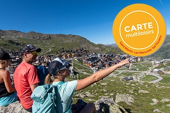 Carte Multiloisirs - © OT Val Thorens