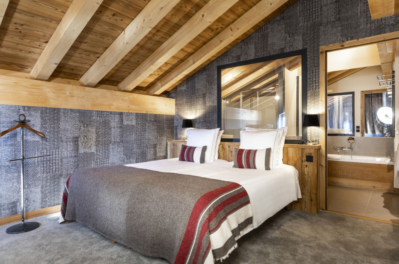 Bedroom ©Chalets Privés du Koh I Nor
