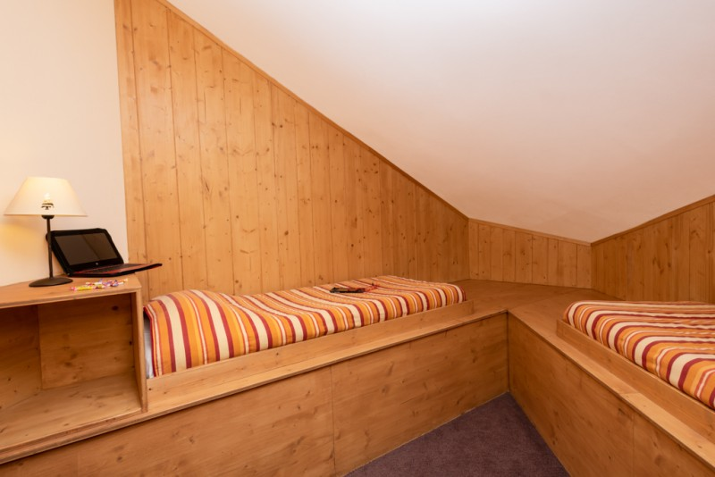 Bedroom - ©Residence Chamois D'Or