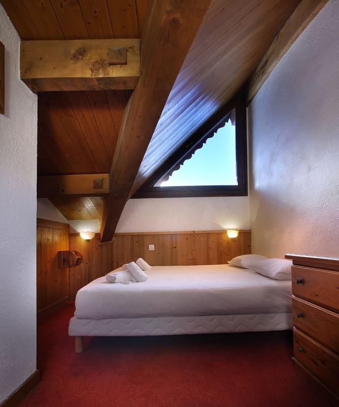 Chambre Double - ©Résidence Chalet des Neiges Plein Sud