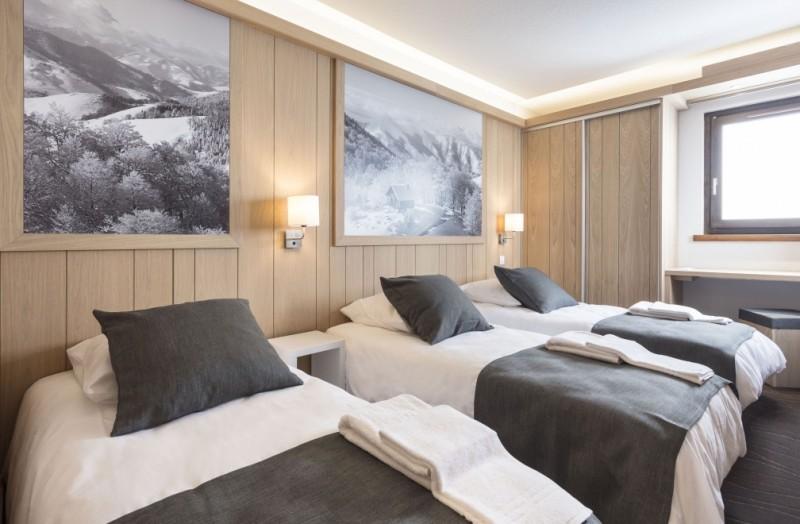 Chambre triple © MMV Les Arolles
