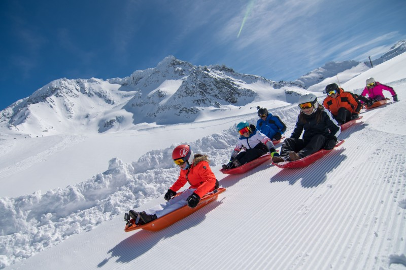 © OT Val Thorens - Sledge run