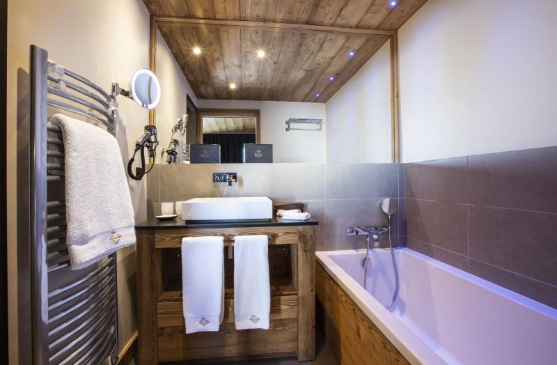 Salle de bain  ©Chalets Privés du Koh I Nor