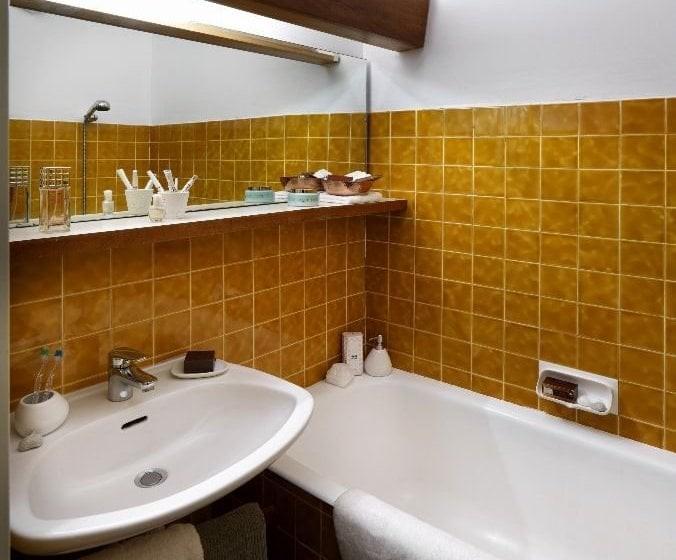 Bathroom - ©Residence Le Gypaète