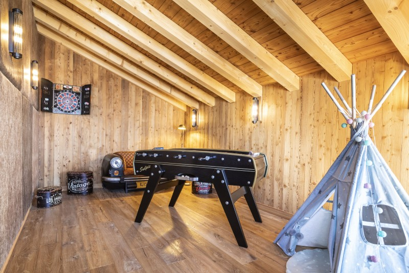 Games Room ©Chalets Privés du Koh I Nor