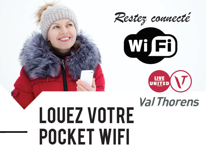 Val Thorens Réservation - Hippocket Wifi